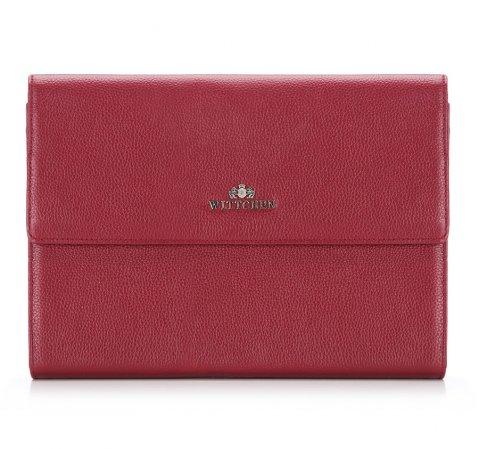 Czerwona torba na laptopa