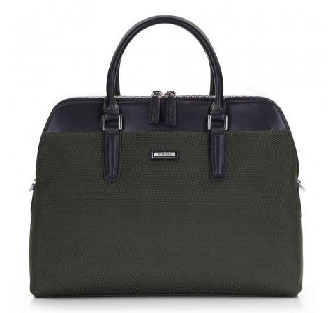 Zielona torba na laptopa