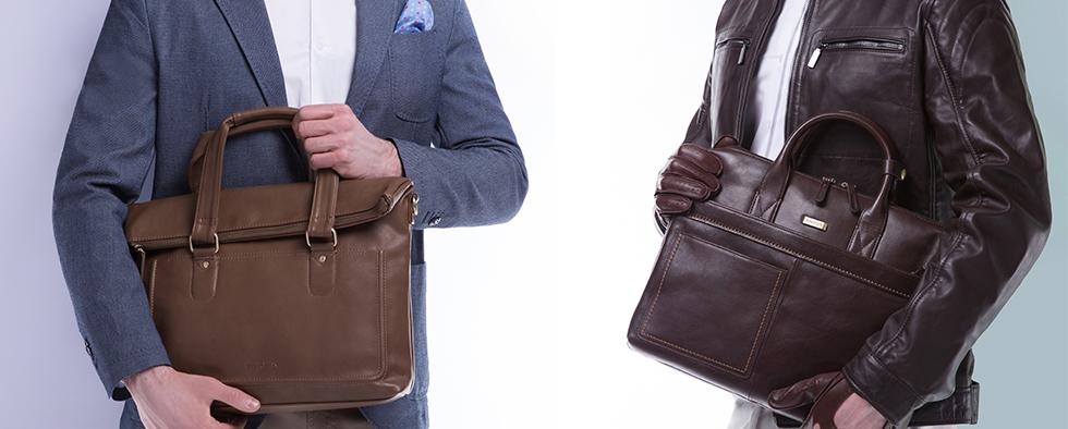 Torby, płaszcze, buty i dodatki - jakość i elegancja kolekcji WITTCHEN dla mężczyzn