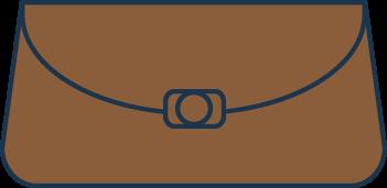 brązowe torebki wieczorowe