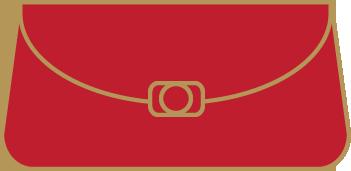 czerwone torebki wieczorowe
