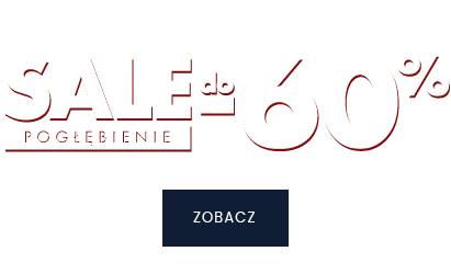 SALE -60%, zobacz