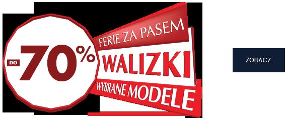 WALIZKI DO -70%