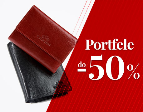 portfele do -50%