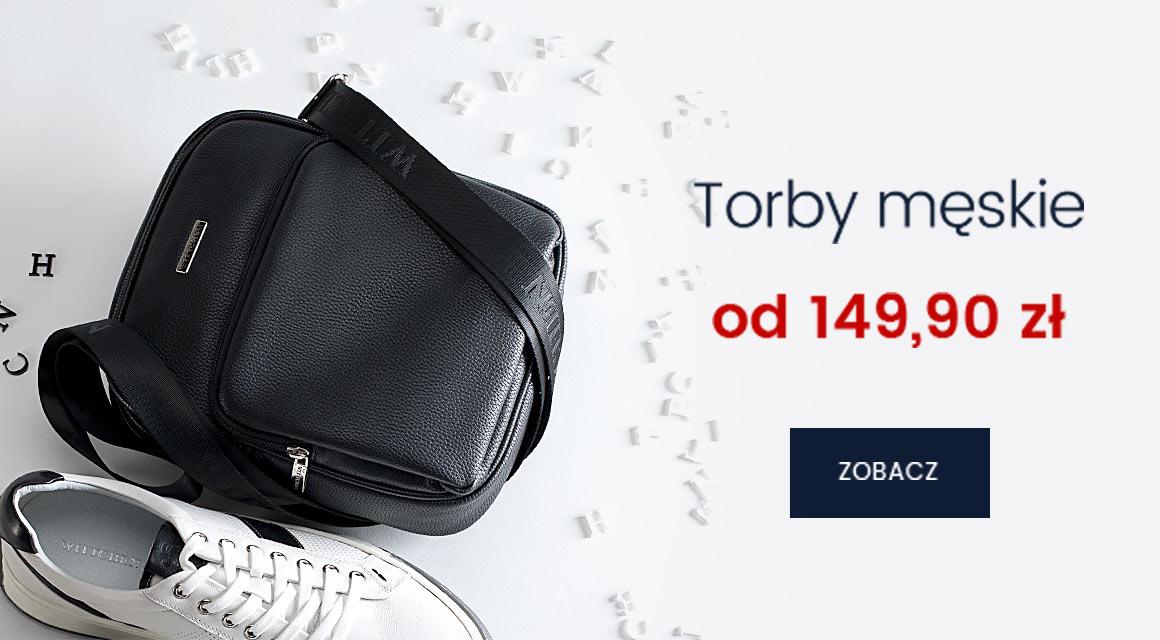 TORBY MĘSKIE OD 149,90 zł