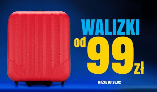 walizki od 99 zł