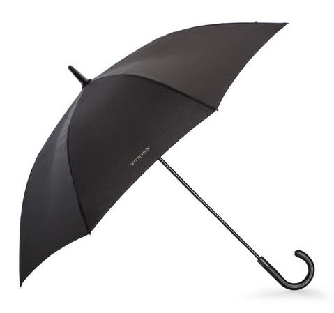 Полуавтоматический зонт с логотипом, антрацит, PA-7-152-X4, Фотография 1