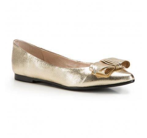 Női cipő, Arany, 86-D-603-1-36, Fénykép 1