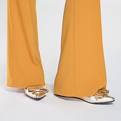 Női cipő, Arany, 86-D-603-G-37, Fénykép 1