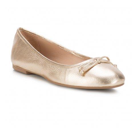 Női cipő, Arany, 88-D-258-P-37, Fénykép 1