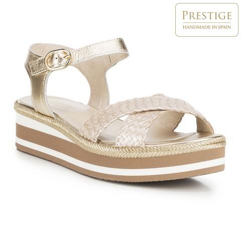 Női cipő, Arany, 88-D-451-7-38, Fénykép 1