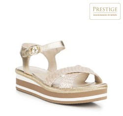 Női cipő, Arany, 88-D-451-G-38, Fénykép 1