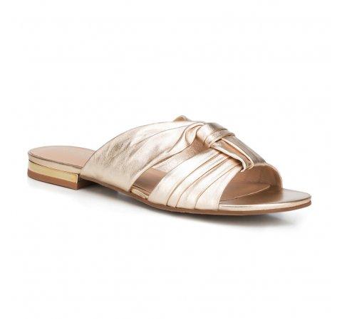 Női cipő, Arany, 88-D-257-1-36, Fénykép 1