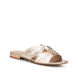 Női cipő, Arany, 88-D-257-G-37, Fénykép 1