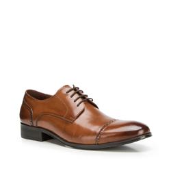 Férfi cipők, barna, 90-M-912-5-44, Fénykép 1