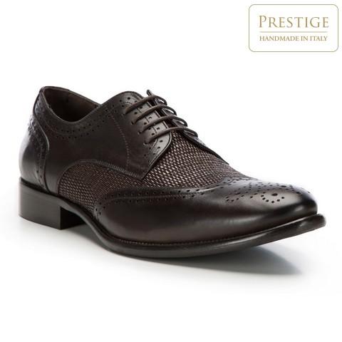 Férfi cipő, barna, 86-M-054-5-43, Fénykép 1