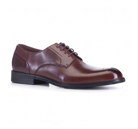 Férfi cipő, barna, 88-M-926-4-45, Fénykép 1