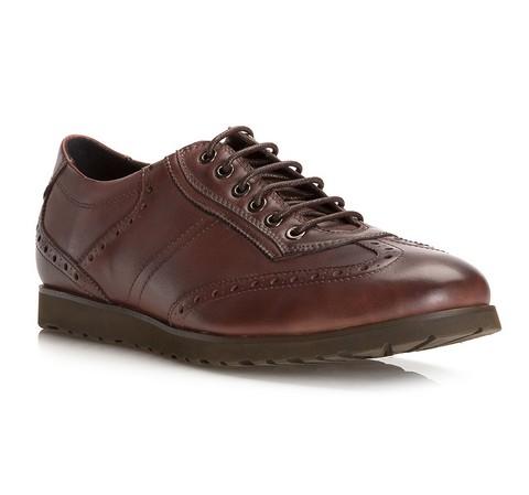 Férfi cipők, barna, 81-M-915-4-40, Fénykép 1