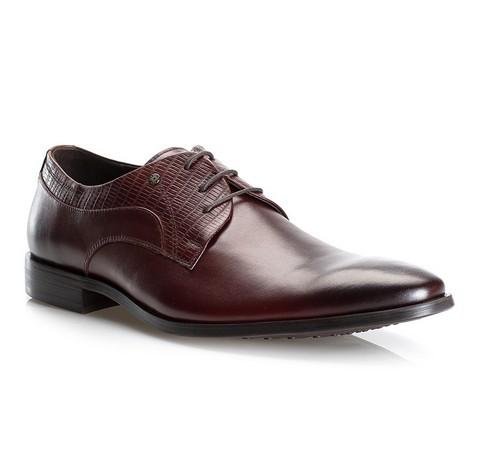 Férfi cipő, barna, 81-M-918-4-45, Fénykép 1