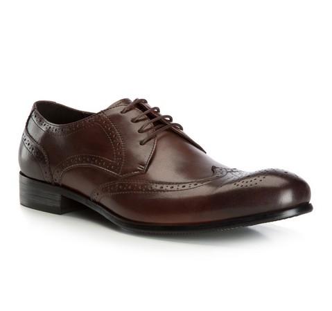 Férfi cipő, barna, 82-M-801-8-44, Fénykép 1