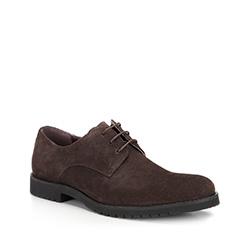 Férfi cipő, barna, 87-M-818-4-44, Fénykép 1