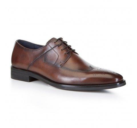 Férfi cipő, barna, 88-M-810-1-45, Fénykép 1