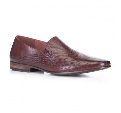 Férfi cipő, barna, 88-M-908-4-44, Fénykép 1
