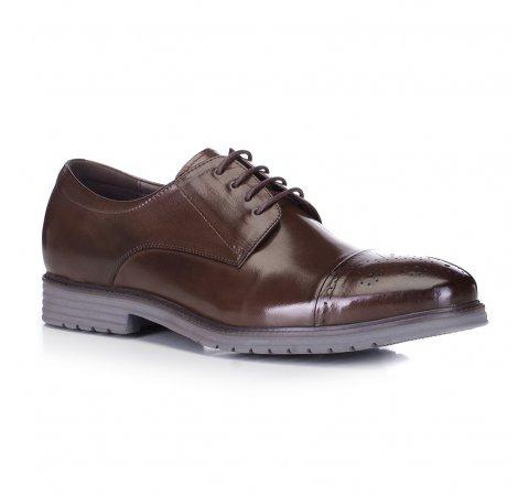 Férfi cipő, barna, 88-M-922-4-44, Fénykép 1