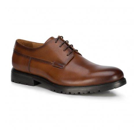 Férfi cipő, barna, 89-M-500-1-45, Fénykép 1
