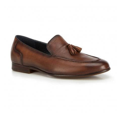 Férfi cipők, barna, 90-M-506-4-45, Fénykép 1
