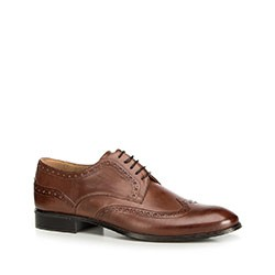 Férfi cipők, barna, 90-M-601-4-44, Fénykép 1