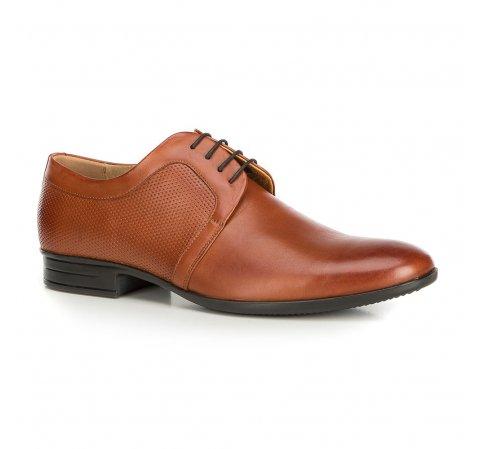 Férfi cipők, barna, 90-M-602-5-40, Fénykép 1