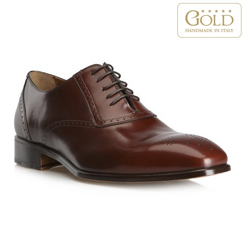 Férfi cipő, barna, BM-B-571-1-46, Fénykép 1
