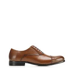 Férfi klasszikus bőr Oxford, barna, 92-M-552-5-42, Fénykép 1