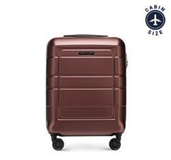 Kis bőrönd, barna, 56-3H-541-3R, Fénykép 1