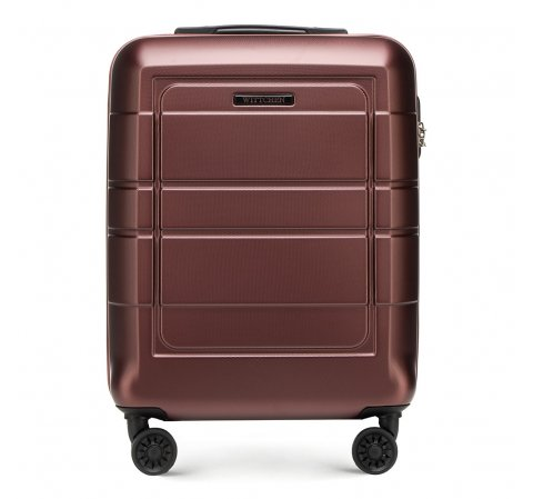 Kis bőrönd, barna, 56-3H-541-9R, Fénykép 1