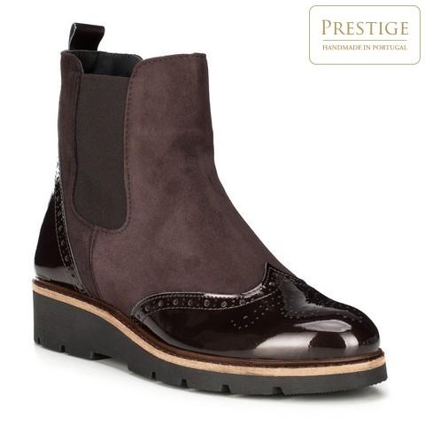 Női cipő, barna, 89-D-803-4-37, Fénykép 1