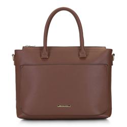 Női táska netbook tokkal, barna, 92-4Y-220-5, Fénykép 1
