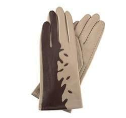 Damenhandschuhe, beige-braun, 39-6-519-6A-S, Bild 1