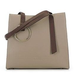 Einkaufstasche, beige-braun, 90-4E-611-9, Bild 1