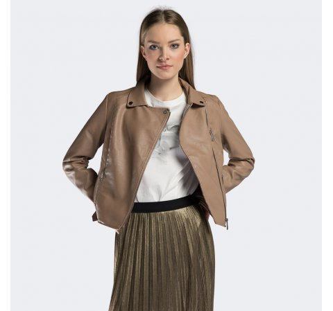 Damenjacke, beige, 90-9P-100-9-L, Bild 1