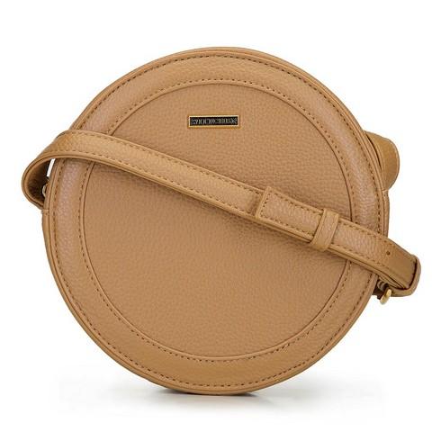 Damentasche in runder Form