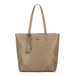 Einkaufstasche, beige, 87-4Y-559-9, Bild 1