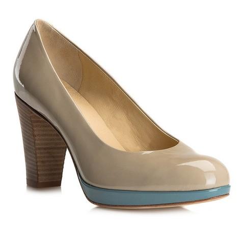 Frauen Schuhe, beige, 80-D-106-9-36, Bild 1
