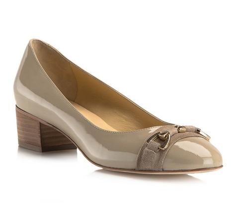 Frauen Schuhe, beige, 80-D-125-9-36, Bild 1