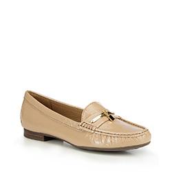Frauen Schuhe, beige, 87-D-710-9-38, Bild 1