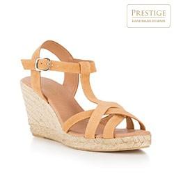 Frauen Schuhe, beige, 88-D-502-9-40, Bild 1