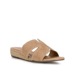 Frauen Schuhe, beige, 88-D-714-9-40, Bild 1
