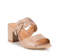 Frauen Schuhe, beige, 88-D-715-9-40, Bild 1