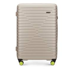Großer Koffer, beige, 56-3A-453-88, Bild 1